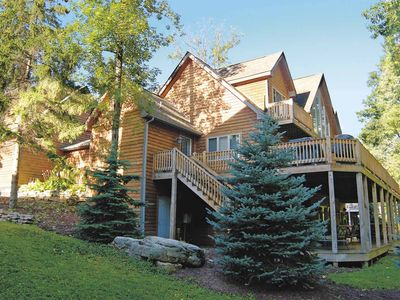 Photo for Ritz on the Lake- Large Lakefront Home w/ Private Indoor Pool