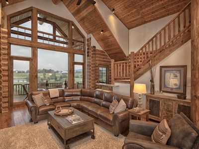 """Photo for USE PROMO CODE """"10 Off"""" - 4 Bedroom Mountain Cabin - Close to Jackson Hole!"""