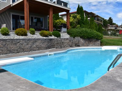 Photo for 2000 Ft2 Suite With A Private Pool And A Spectacular View Of Okanagan Lake
