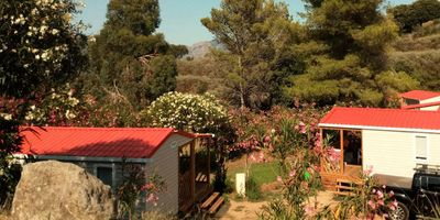 Photo for Camping Tikiti *** - Air-conditioned mobile home 3 rooms 5 persons