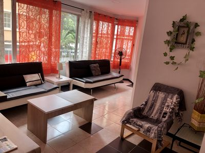 Photo for Spacious and well located apartment ideal for groups.