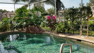Photo for Mermaids Cove Cape Coral- Sleeps 14- Beautiful Saltwater Pool