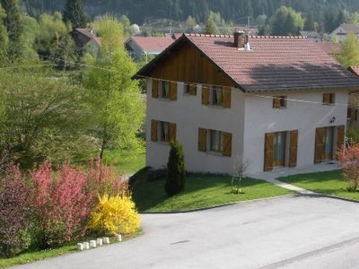 Photo for Traditional Villa, 12 persons, comfortable, at Gerardmer, large garden