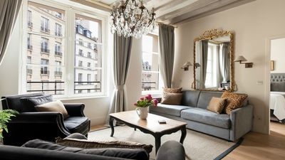 Photo for SALE! Luxurious Parisian Perfection for 2 near Notre Dame