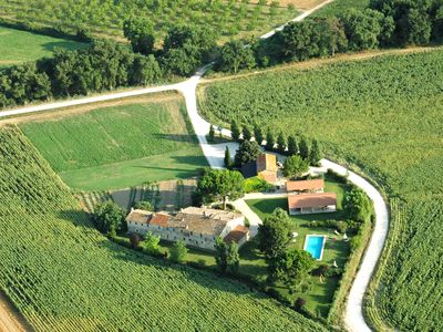 Photo for Farmhouse with swimming pool in Umbria, the green heart of Italy