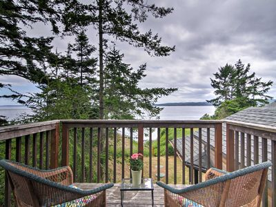 Photo for Nordland Waterfront Home w/Beach Access + Mtn View