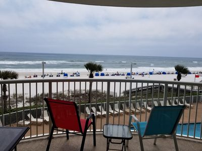 Photo for DIRECT OCEAN FRONT ! GREAT VIEWS From the balcony