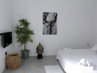Photo for New & refurbished - Elegant, Sunny, Quiet Studio, Right In The Heart Of Mykonos
