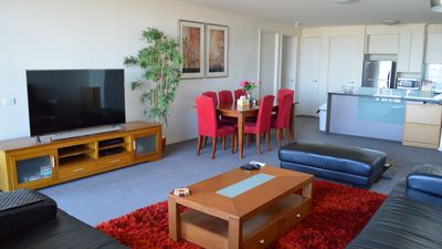 Photo for Spacious with 2 bathrooms on 25th floor 112 square metres