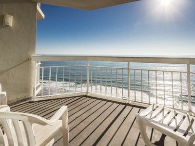 Fabulous Views, Oceanfront, 2 Bedroom with Free Water Park, Aquarium, Golf & More Every Day! WE1211