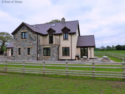 Photo for Large, sociable, comfortable and well-equipped accommodation for group of 14 in modern farmhouse in