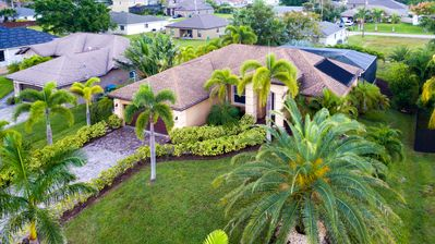 Photo for Beautiful villa in Cape Coral - perfect southern exposure w. heated pool and spa