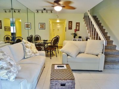 Photo for Darling updated multi-level unit in popular Island Resort Complex...close to the beach !