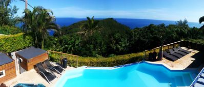 Photo for Villa Grand Anse (luxury villa with spa), up to 12 people, sea view