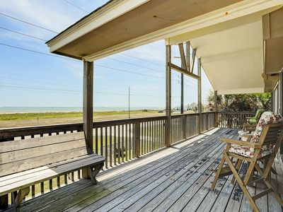 Photo for Sit back, relax & enjoy this quaint Sea Isle home with unobstructed ocean views!