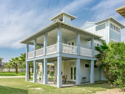Photo for Fall Savings! Three-Story Gulf-View 4BR Retreat w/ Pool & Boardwalk to Beach
