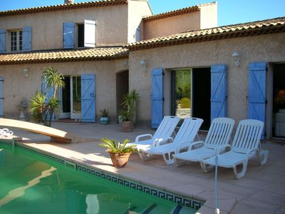 Photo for VILLA with private TENNIS and SWIMMING POOL