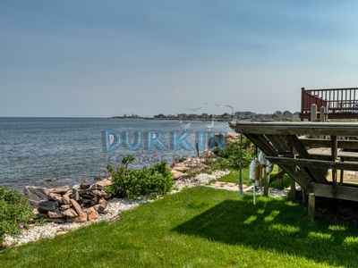 Panoramic ocean views from this updated cottage in Point Judith.