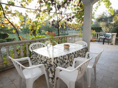 Photo for Two bedroom apartment with terrace Sukošan (Zadar)