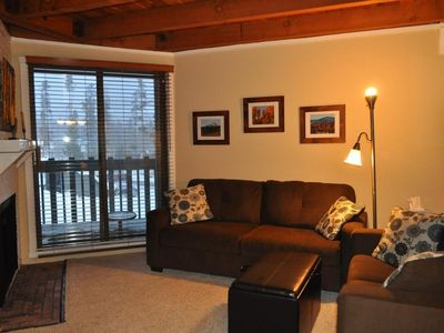 Photo for Condo 2 BR,  Pool, Hot tub, Wifi, Fireplace, Wildernest, 1st floor