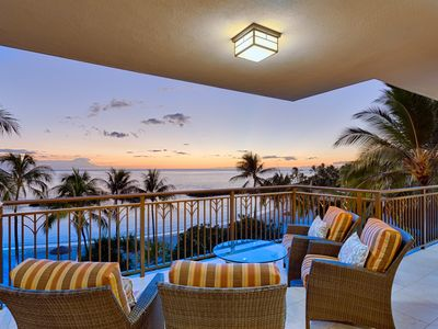 Photo for DIRECT Ocean front 4th floor villa with Million Dollar View