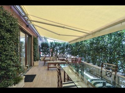 Photo for Spacious Urban Luxury Terrace apartment in Fiera with WiFi, integrated air conditioning, private ro…
