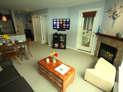Photo for PEOWhistler: 1 Bedroom in the village with Blackcomb mtn view with free parking