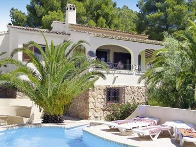 Photo for Villas, Moraira  in Um Valencia - 10 persons, 5 bedrooms