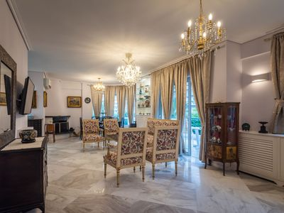 Photo for A vintage  apartment in the center of Glyfada Athens