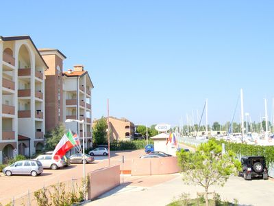 Photo for Comfortable apartment equipped for disabled in residence with pool on the marina
