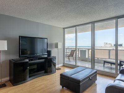 Photo for Bayfront Gem with Balcony and Pool