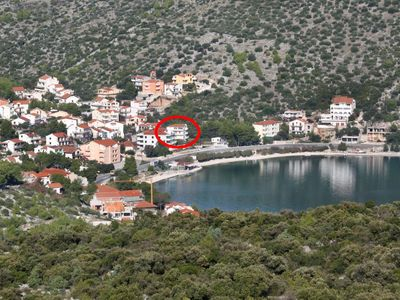 Photo for One bedroom apartment with terrace Marina (Trogir)