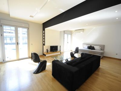Photo for New apartment, great luxurious design, free WiFi, walk to acropolis + top sights