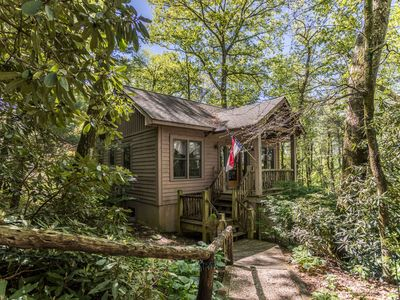 Photo for Altitudes Attitude - Upscale Cabin with Hot Tub, 3 Minutes to Downtown Blowing Rock