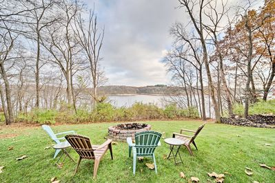 Discover the diverse terrain of North Liberty at this vacation rental home!