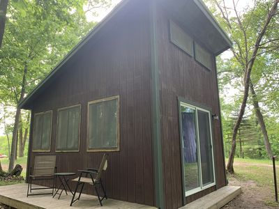 Amazing Glamping Cabin in the woods!