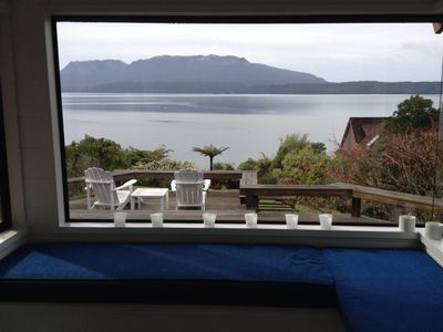 Photo for Lake front  with own jetty. Four bedroom with modern furnishings