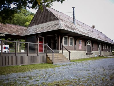Photo for Historic 1913 Railroad Station Full of History, Views and Modern Amentities!
