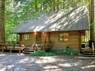 Photo for Mt. Baker Rim Cabin #43 - A Country Family Log Home!