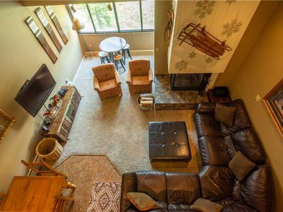 Photo for Ski-in/Out with lots of beds, comfy living room. Complimentary WiFi, & parking.