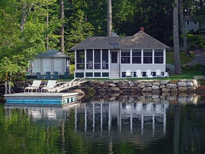 Photo for Pair of Cottages on Lake Megunticook - 2 mi from Camden Harbor