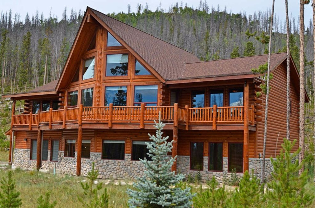 Luxury Log Cabin At Base Of Rocky Mountain National Park