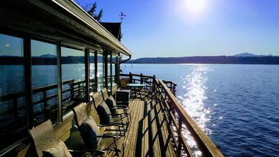 Photo for Waterfront near Alderbrook.  Union City Beach House at Hood Canal. Epic Views!