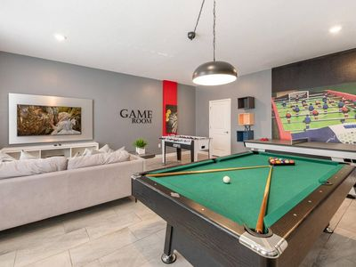 Photo for Luxury home with game room for 20 guests