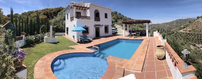 Photo for Rural house 15 minutes away from the beach. Private swimming pool and free WIFI