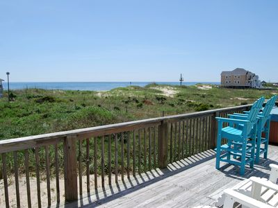 Photo for 10% DISCOUNT on ALL weeks left 4 BR, 2BA Ocean View, Pet-Friendly, Hot Tub