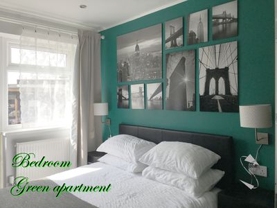 Photo for Comfortable apartment with green garden (Green apartment)