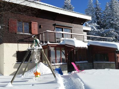 Photo for Chamrousse accommodation in independent cottage, sleeps 8, 70 m², max 6 adults