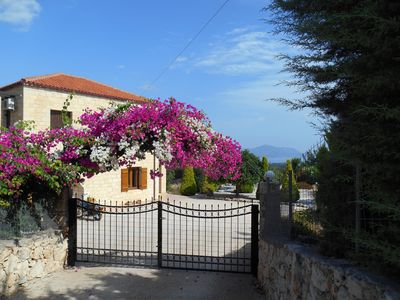 Photo for Beautifully Appointed Villa: Wonderful Gardens With Sea & Mountain Views