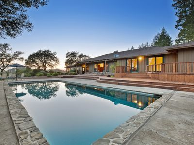 Photo for NEW - Calistoga Ridge Ranch